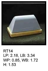 RT 14, roof top shaped silicone print pad from AccuPad Inc.