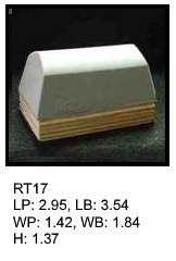 RT 17, roof top shaped silicone print pad from AccuPad Inc.