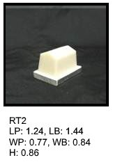 RT 2, roof top shaped silicone print pad from AccuPad Inc.