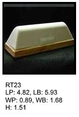 RT 23, roof top shaped silicone print pad from AccuPad Inc.