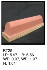 RT 25, roof top shaped silicone print pad from AccuPad Inc.