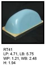 RT 41, roof top shaped silicone print pad from AccuPad Inc.