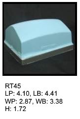 RT 45, roof top shaped silicone print pad from AccuPad Inc.