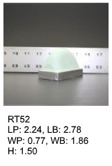 RT 52, roof top shaped silicone print pad from AccuPad Inc.