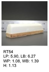 RT 54, roof top shaped silicone print pad from AccuPad Inc.