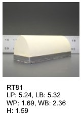 RT 81, roof top shaped silicone print pad from AccuPad Inc.