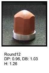 Round12, round silicone print pad from AccuPad Inc.