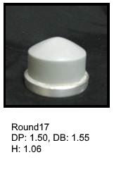 Round17, round silicone print pad from AccuPad Inc.