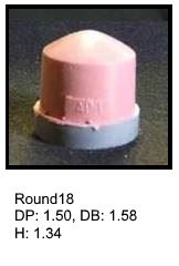 Round18, round silicone print pad from AccuPad Inc.