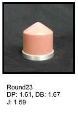 Round23, round silicone print pad from AccuPad Inc.