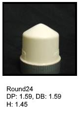 Round24, round silicone print pad from AccuPad Inc.