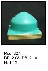 Round27, round silicone print pad from AccuPad Inc.