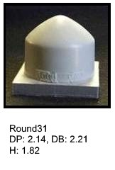 Round31, round silicone print pad from AccuPad Inc.
