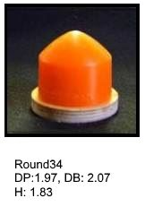 Round34, round silicone print pad from AccuPad Inc.