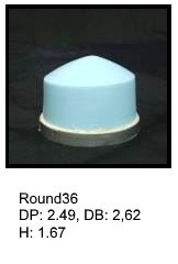 Round36, round silicone print pad from AccuPad Inc.