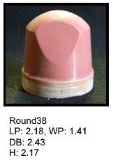 Round38, round silicone print pad from AccuPad Inc.