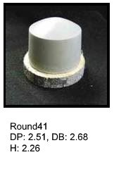 Round41, round silicone print pad from AccuPad Inc.