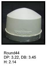 Round44, round silicone print pad from AccuPad Inc.