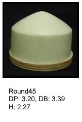 Round45, round silicone print pad from AccuPad Inc.