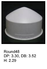 Round48, round silicone print pad from AccuPad Inc.