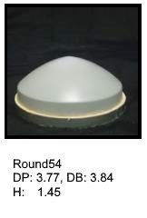 Round54, round silicone print pad from AccuPad Inc.