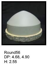 Round56, round silicone print pad from AccuPad Inc.