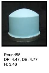 Round58, round silicone print pad from AccuPad Inc.