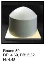 Round59, round silicone print pad from AccuPad Inc.