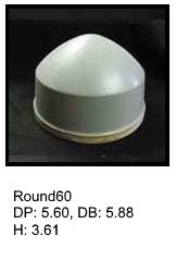 Round60, round silicone print pad from AccuPad Inc.