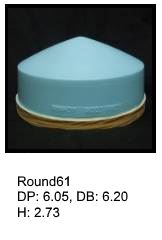 Round61, round silicone print pad from AccuPad Inc.