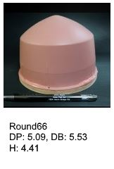 Round66, round silicone print pad from AccuPad Inc.