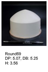 Round69, round silicone print pad from AccuPad Inc.