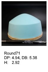 Round71, round silicone print pad from AccuPad Inc.