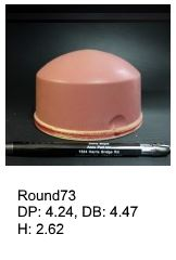 Round73, round silicone print pad from AccuPad Inc.