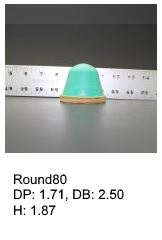 Round80, round silicone print pad from AccuPad Inc.