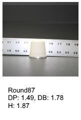 Round87, round silicone print pad from AccuPad Inc.