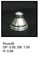 Round9, round silicone print pad from AccuPad Inc.