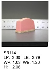 SR 114, Square or rectagular silicone print pad