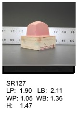 SR 127, Square or rectagular silicone print pad