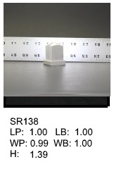 SR 138, Square or rectagular silicone print pad