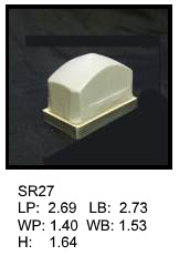 SR 27, Square or rectagular silicone print pad