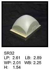 SR 32, Square or rectagular silicone print pad