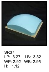 SR 37, Square or rectagular silicone print pad