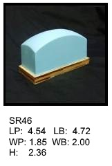 SR 46, Square or rectagular silicone print pad