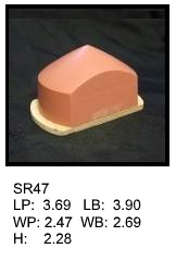 SR 47, Square or rectagular silicone print pad