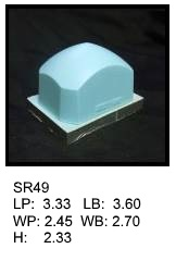 SR 49, Square or rectagular silicone print pad