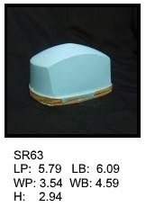 SR 63, Square or rectagular silicone print pad