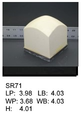 SR 71, Square or rectagular silicone print pad