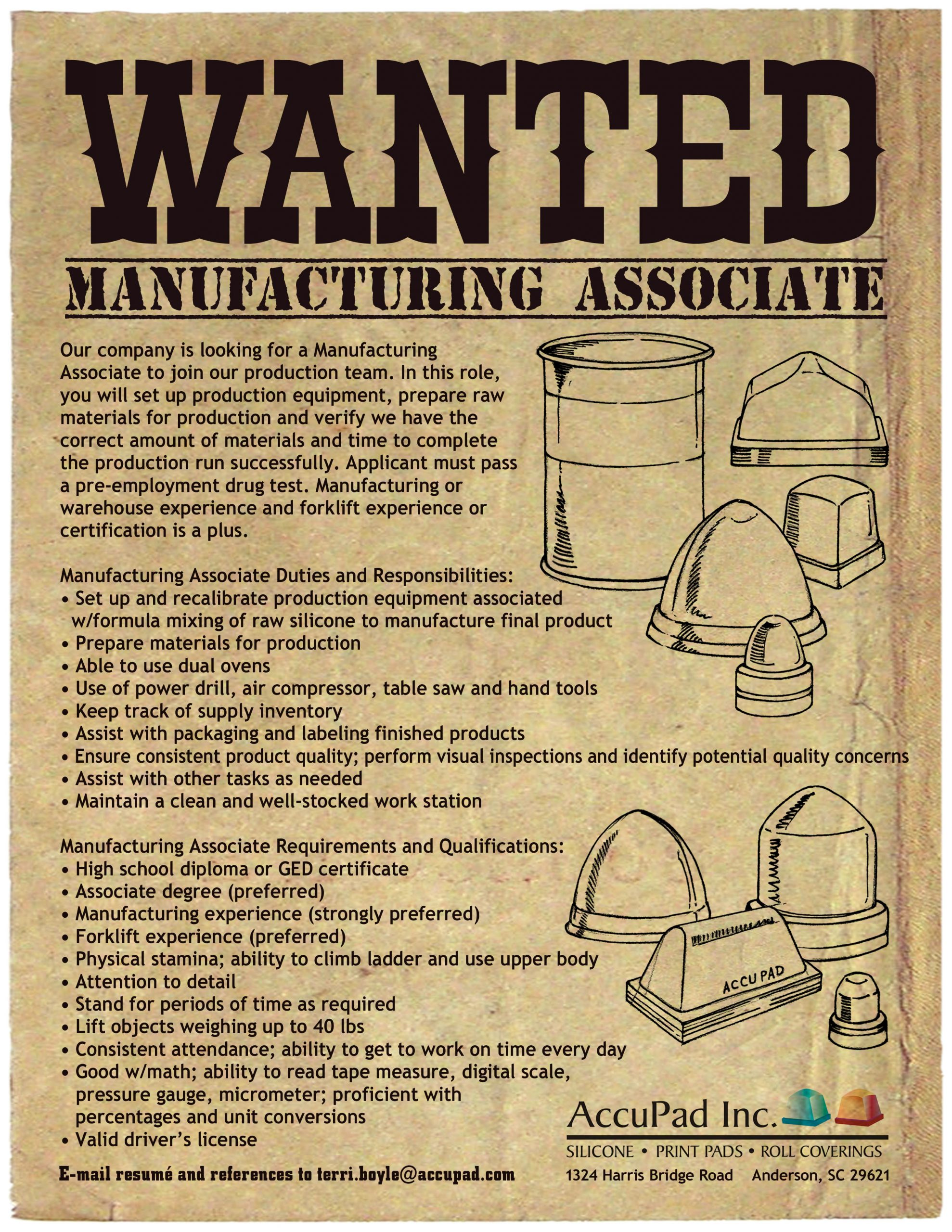 Help Wanted Poster 55/2021