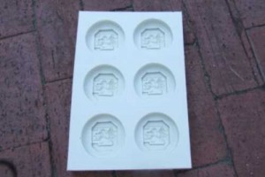 Silicone Mold, sample production 6 items at the time